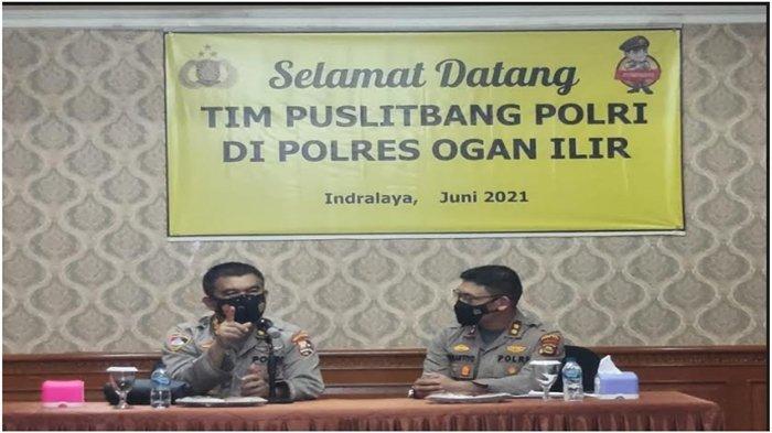 Tim Puslitbang Polri Kunjungi Polres Ogan Ilir, Bahas Implementasi Pelayanan Prima Polri ke Masyakat