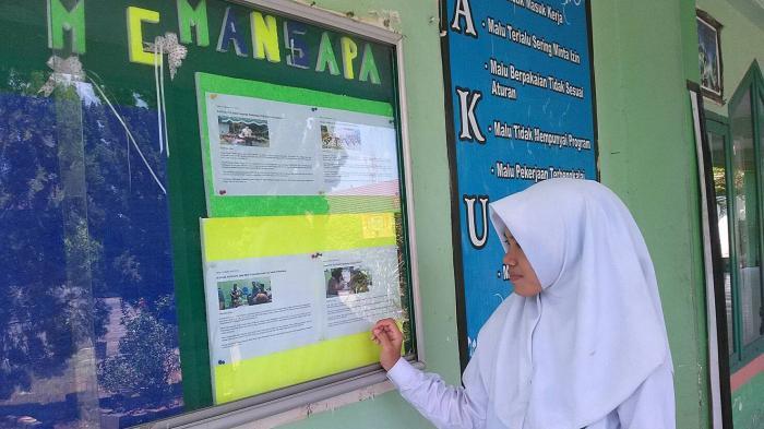 Majalah Dinding di MAN 1 Palembang Berjalan Baik