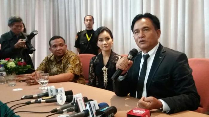 Bukan Tim Pemenangan, Ini Tugas Yusril Ihza Mahendra Setelah Jadi Pengacara Jokowi-Ma'ruf Amin