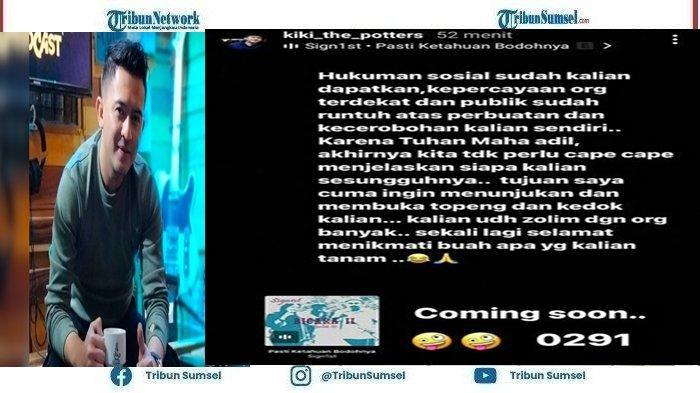 Kiki The Potters Sebut Nikita Mirzani dan Fitri Salhuteru Kena Sanksi Sosial, Kedok Keduanya Terbuka