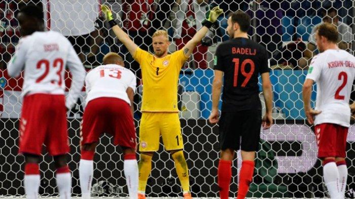 Hasil Piala Dunia 2018 - Kroasia Vs Denmark - Kroasia Lolos, 5 Penalti Ditepis Mewarnai Pertandingan