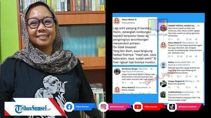Kisah Alissa Wahid Tegur Rombongan Serobot Antrean di Bandara Halim Ramai di Media Sosial