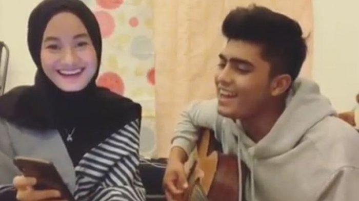 Dinda Hauw sewaktu bersama Renald Ramadhan.