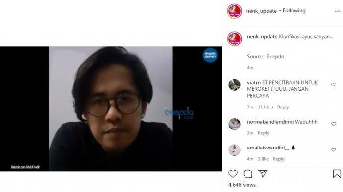 Klarifikasi Ayus Sabyan soal kabar selingkuh dengan Nissa Sabyan