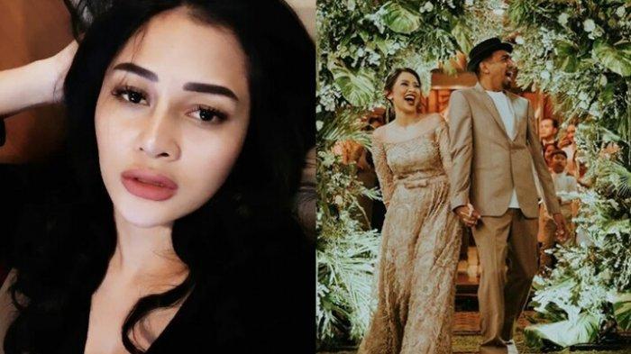 Kolase foto Mutia Ayu dan pernikahannya dengan almarhum Glenn Fredly