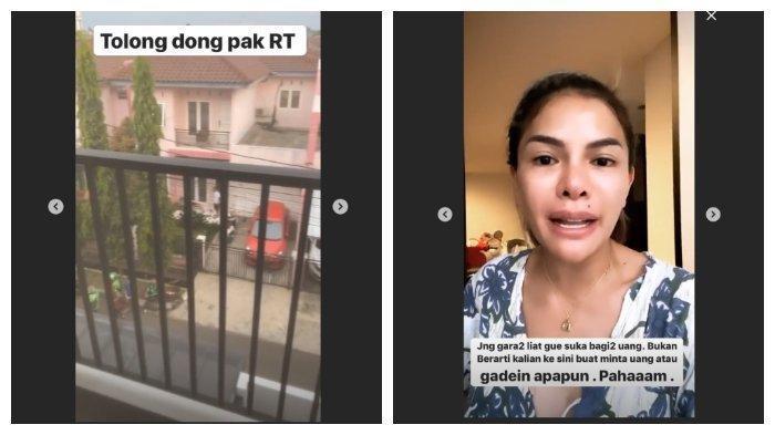 Nikita Mirzani Ngamuk, Rumahnya Didatangi Warga Minta Sumbangan, 'Gak Punya Uang Jangan Minta Saya'