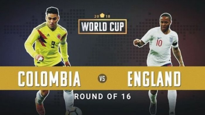 Nonton Live Streaming Piala Dunia Kolombia Vs Inggris di HP via Indosat, XL dan Telkomsel
