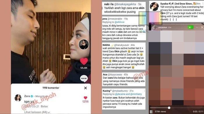 Adhisty Zara Makin Dikuliti Jejak Digitalnya, Komentar pada Unggahan Tiktok Rachel Vennya Disorot