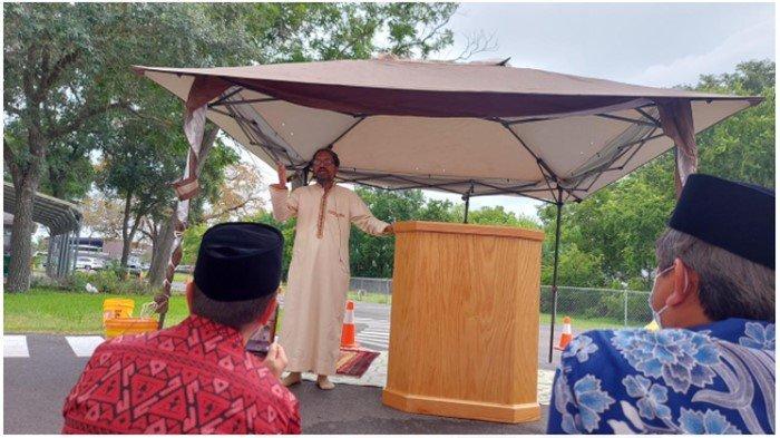 Cerita Mahasiswa Asal Palembang Rayakan Idul Adha 1442 H di Houston Amerika