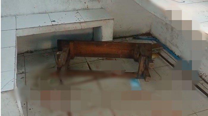 Banyak Darah di Pos Lantas Angkatan 66, Polantas di Palembang Ditusuk OTD