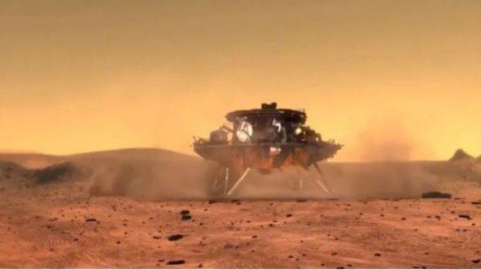 Kelebihan Zhurong, Kapal Penjelajah China Pertama yang Berhasil Sampai Mars Dilindungi Perisai Panas