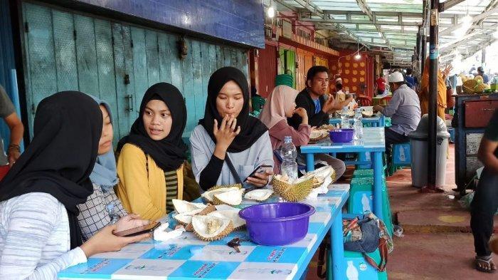 Pasar Durian Kuto Ditetapkan Sebagai Lokasi Wisata Kuliner Palembang, Buka 24 Jam Setiap Hari
