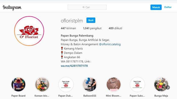 Kontak Sewa Papan Karangan Bunga di Kota Palembang dan Kisaran Harganya, Bisa untuk Idul Adha 2021