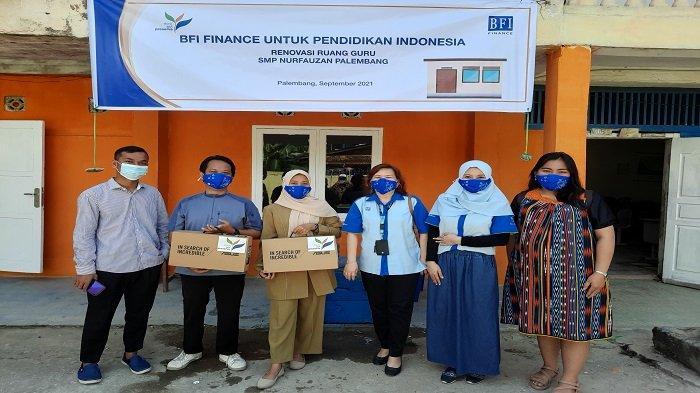 BFI Finance Peduli Pendidikan, Salurkan Bantuan untuk Sekolah di Palembang - kontribusi-bfi-finance-untuk-smp-nurfauzan.jpg