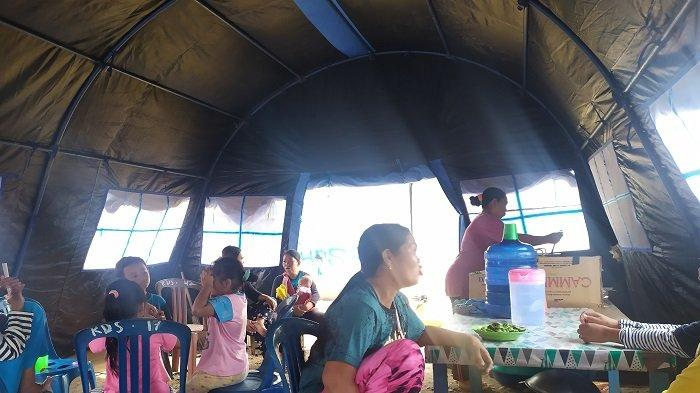 Tinggal di Tenda Darurat, Korban Kebakaran di Desa Ibul Besar II OI Berharap Punya Rumah Lagi