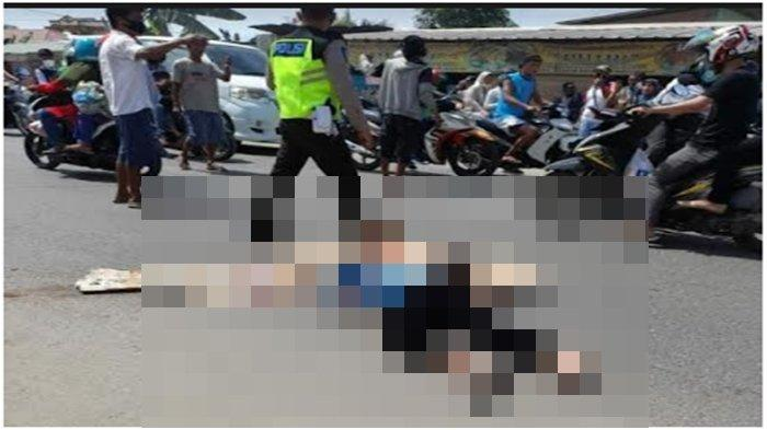 Kesaksian Warga Lihat Kecelakaan di Jalan Mayor Zen Kalidoni, Pengendara Motor Tewas di Tempat