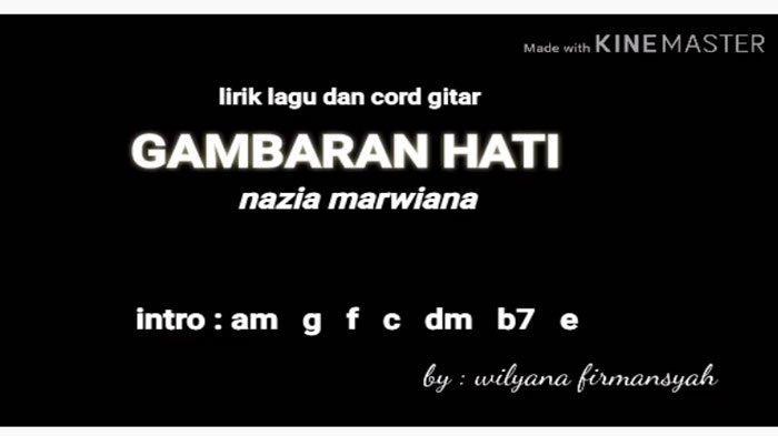 Kunci Gitar (Chord) Nazia Marwiana - Gambaran Hati, Kunci Dasar yang Mudah Dimainkan