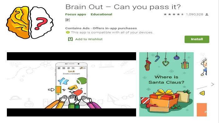 Kunci Jawaban Brain Out Level 1 185 Bahasa Indonesia Solusi Jawaban Game Asah Otak Halaman All Tribun Sumsel