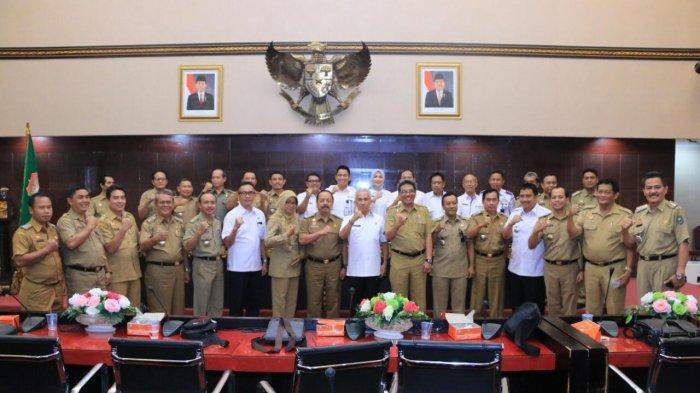 Pemkab Sanggau Terpukau Dengan Pelayanan Publik Kota Palembang