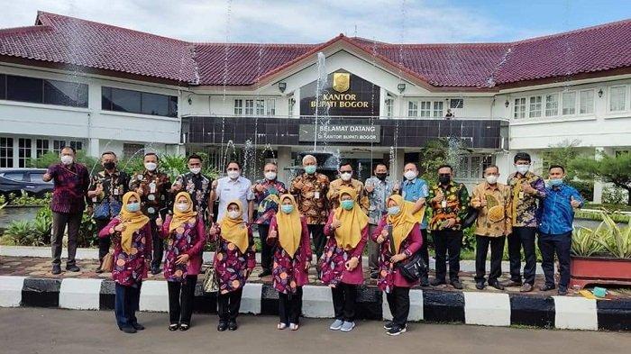 Wawako dan Pejabat Pemkot Lubuklinggau Studi Banding ke PDAM Tirta Kahuripan Bogor