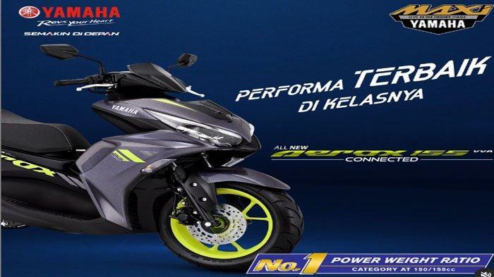 Motor Yamaha Terbaru 2021, All New Aerox 155, Berikut Spesifikasi dan Harganya