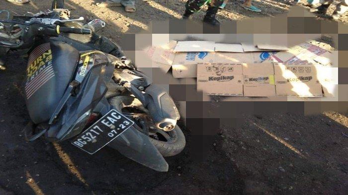 Kecelakaan Maut, Mobil Carry Hantam Mio di Merapi Barat Lahat, Diki Tewas