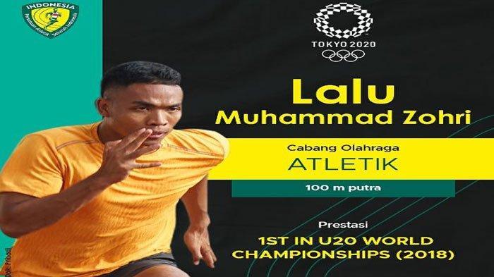 Besok Jadwal Atletik Pelari Indonesia Lalu Muhammad Zohri di Olimpiade Tokyo, Ini Prediksinya