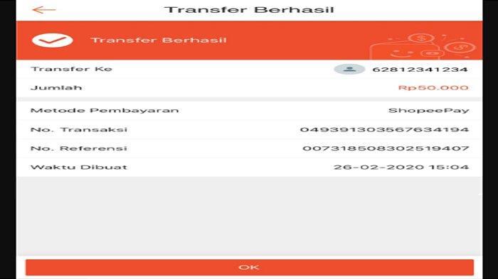 Tutorial Transfer Saldo ShopeePay