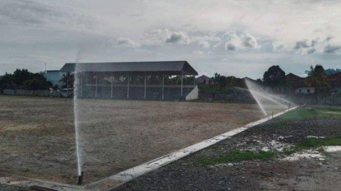 PTBA Gelontorkan Rp 2,2 Miliar Renovasi Lapangan Sepakbola Saringan Tanjung Enim