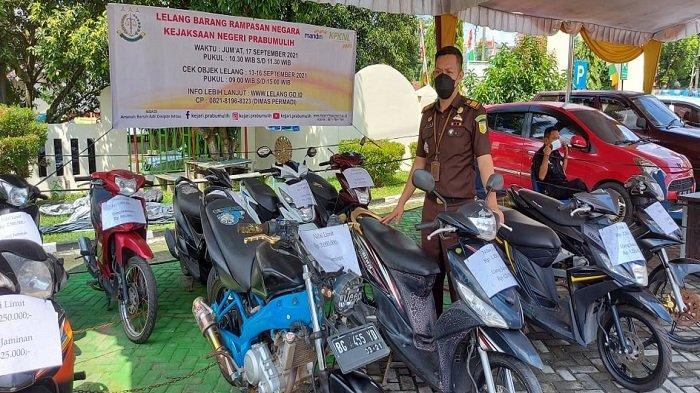Lelang Motor dan Mobil Barang Rampasan Negara di Kejari Prabumulih, Motor Mulai Rp 1 Juta