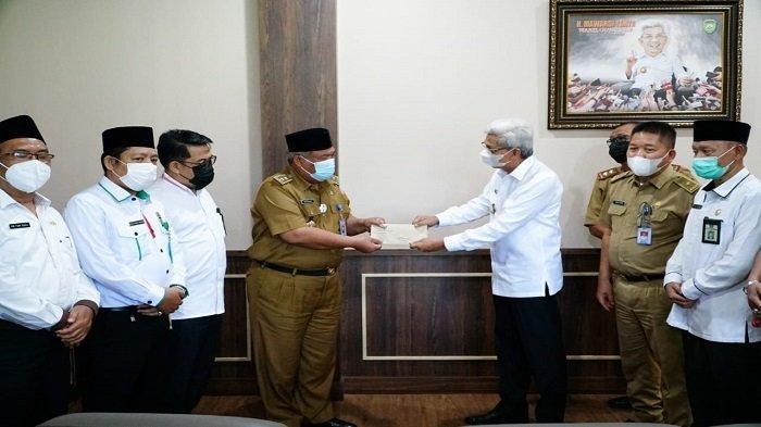 Gubernur Tunjuk H Rosyidin Hasan Pengganti Antar Waktu Ketua Harian LPTQ Sumsel