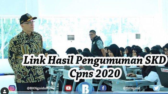 Link Pengumuman Hasil SKD CPNS 2020 (Lolos ke SKB) Semua Kabupaten/Kota di Sumsel