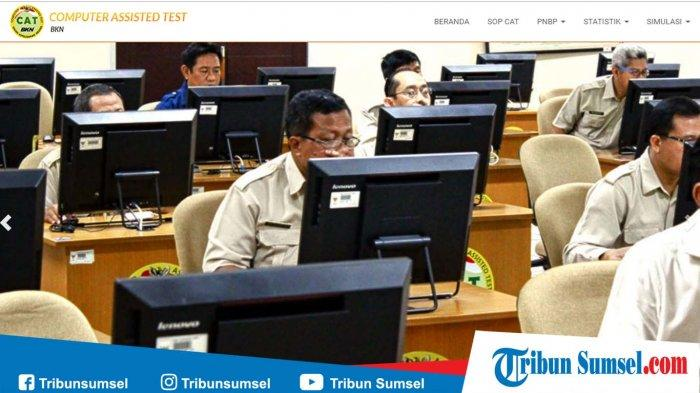 Link Latihan Soal Tes Cpns 2019 Resmi Dari Bkn Gratis Download Kunci Jawaban Serta Pembahasan Pdf Tribun Sumsel