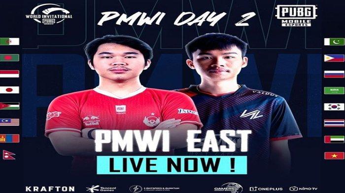 Link Live Streaming Hari Kedua Turnamen PUBG Mobile World Invitational (PMWI) 2021 Zona Timur