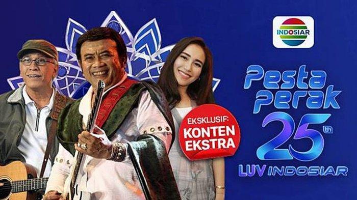 Link Live Streaming Indosiar Konser Pesta Perak 25 Luv ...