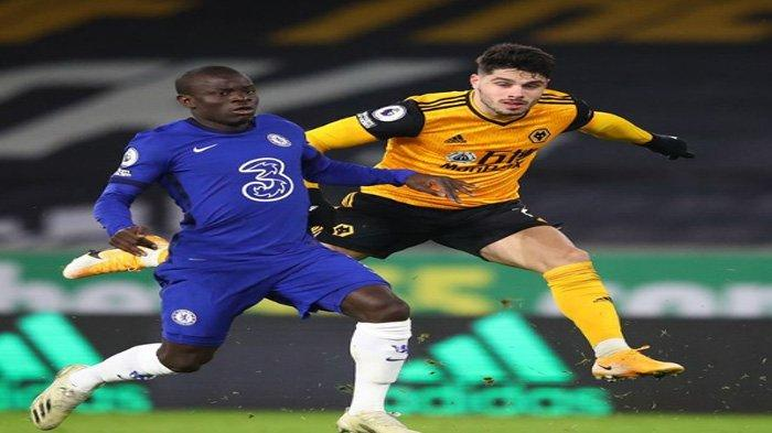 Jadwal dan Link Live Streaming Liga Inggris : Chelsea vs Wolves Malam Ini