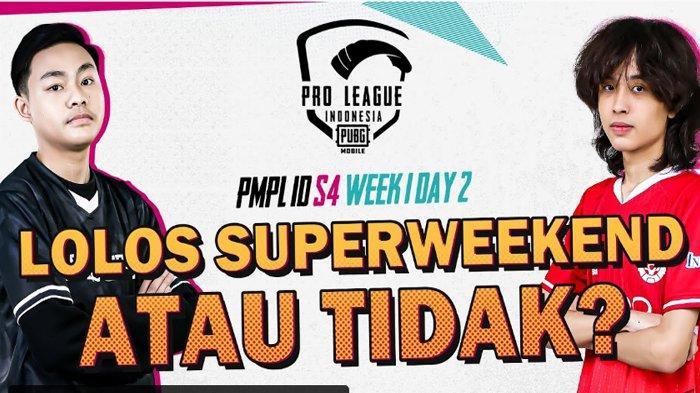Link Live Streaming PMPL Indonesia Season 4 Hari Ini, Fase Penentu ke Super Weekend