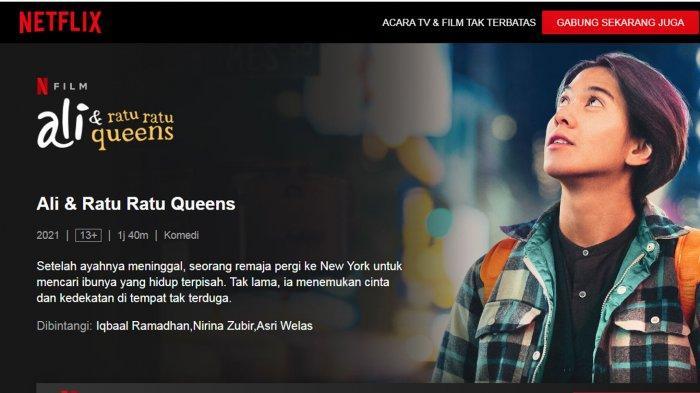 Sinopsis Film Ali dan Ratu-Ratu Queens, Perjalanan Iqbal Ramadhan Mencari Sang Ibu di New York