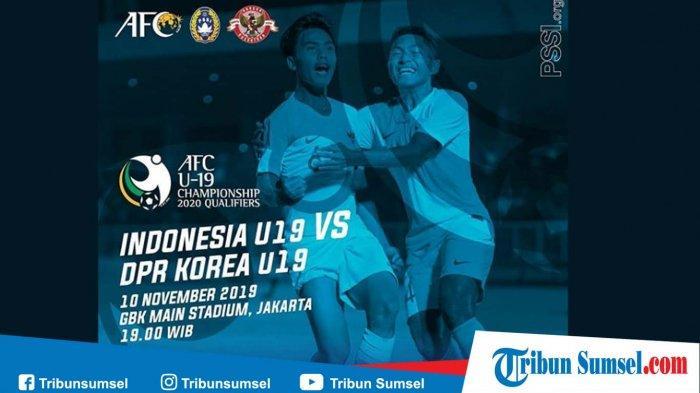 Hasil Babak Pertama Indonesia U19 vs Korea Utara, Skor 1 - 0 Untuk Korut, Tonton Streaming Via HP