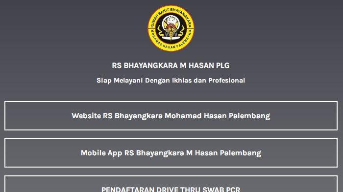Link Pendaftaran Vaksinasi 1 dan 2 di RS Bhayangkara Palembang, Kuota Terbatas, Ini Caranya