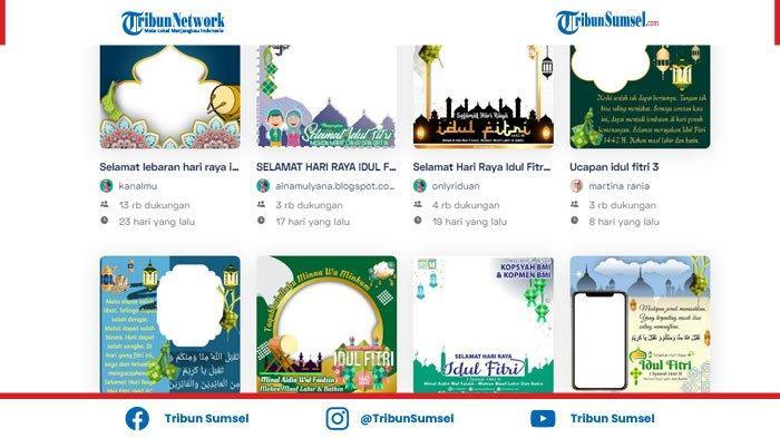 Link Twibbon Idul Fitri 2021 Gratis, Daftar Bingkai Foto Keren Ucapan Selamat Idul Fitri 1442 H