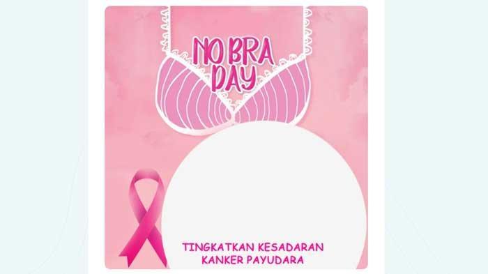 Link Twibbon No Bra Day 13 Oktober 2021, Ini Cara Membuat Bingkai Foto Hari Tanpa Bra Dunia