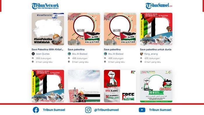 Link Twibbon Save Palestina Gratis 2021, Template Bingkai Foto Solidaritas untuk Palestina
