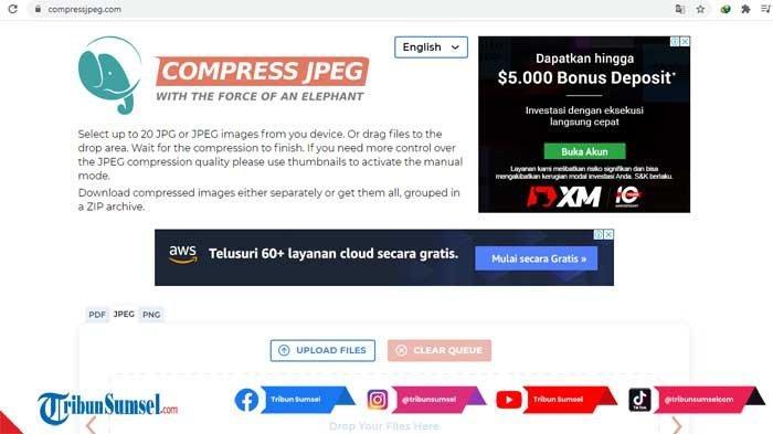 Link Website Memperbesar Pasfoto Menjadi 100 Kb Untuk Pendaftaran CPNS 2021, Bisa Langsung Digunakan