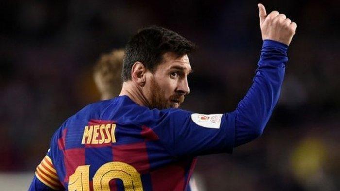 Messi Kartu Merah, Barcelona Gagal Rebut Gelar Piala Super Spanyol