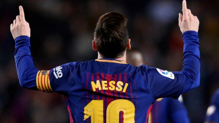 Ini yang Disampaikan Messi Saat Konferensi Pers di Markas Barcelona, Menagis Ucapkan Selamat Tinggal