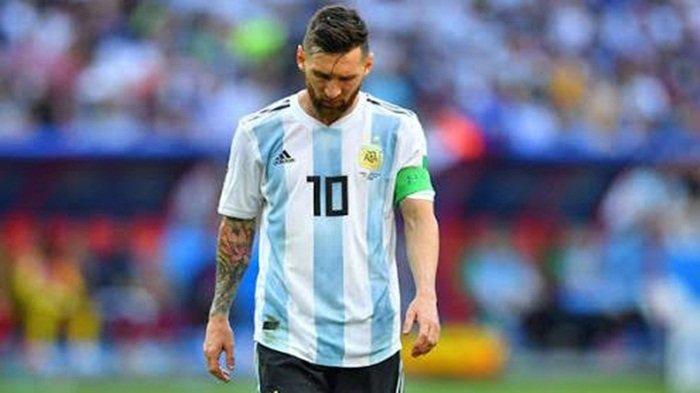 Statistik Mengenaskan Lionel Messi di Piala Dunia: 19 Partai, 0 Gol pada Fase Gugur