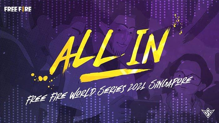 Lirik All In (I'm Going in, All in) 2WEI Ft Marvin, Theme song Free Fire World Series (FFWS) 2021
