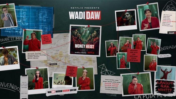 Lirik dan Makna Lagu Dipha Barus - WADIDAW, Terinspirasi dari Serial Money Heist