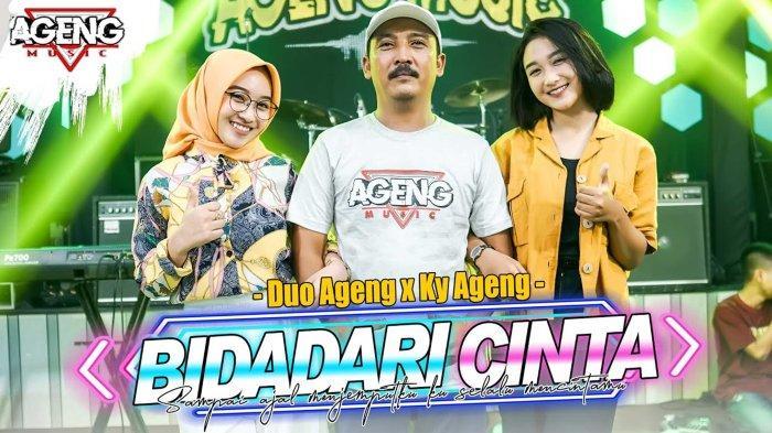 Lirik Lagu Bidadari Cinta DUO AGENG Feat Ky Ageng Cak Met, Trending Youtube